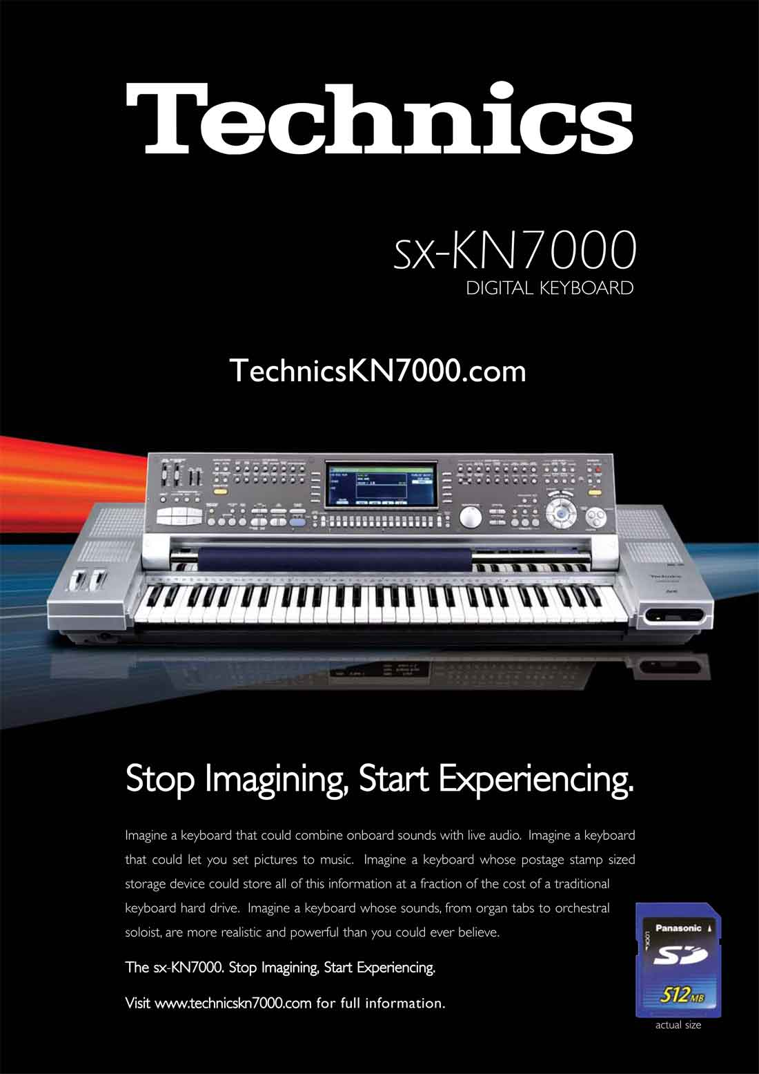 SX-KN7000 Digital Keyboard