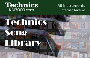 Technics Song Library