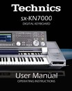 Technics KN7000 User Manual