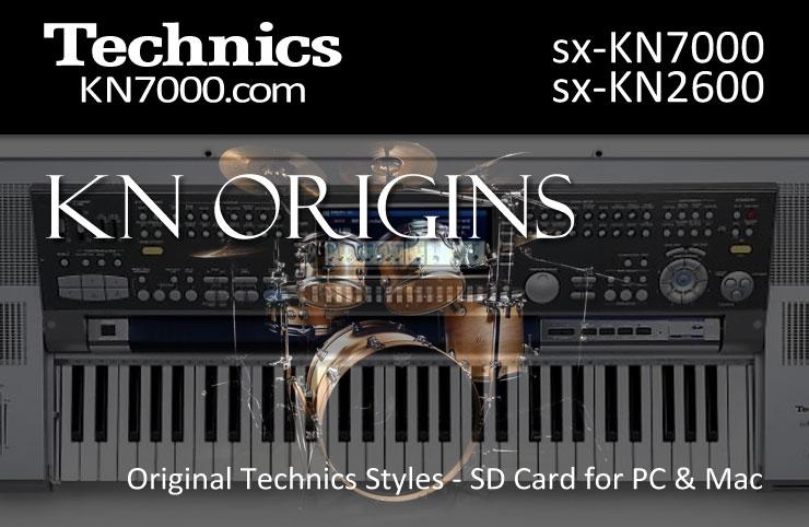 Technics KN7000 :: SD Cards